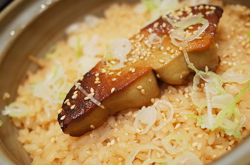 foie gras seasoned riceフォアグラ炊き込みご飯