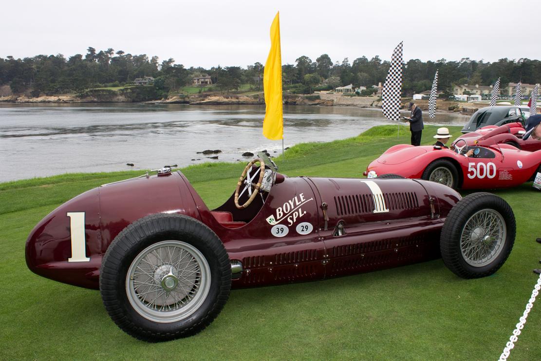 1938 Maserati Tipo 8TCF Monoposto (Boyle Special)