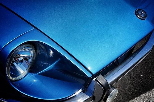 Baby Blue Datsun