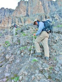 Mark Hiking on Dallas Peak
