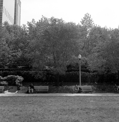 "Image titled ""Benches, Chicago."""