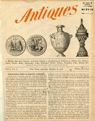 Antiques magazine by David, Mauritius