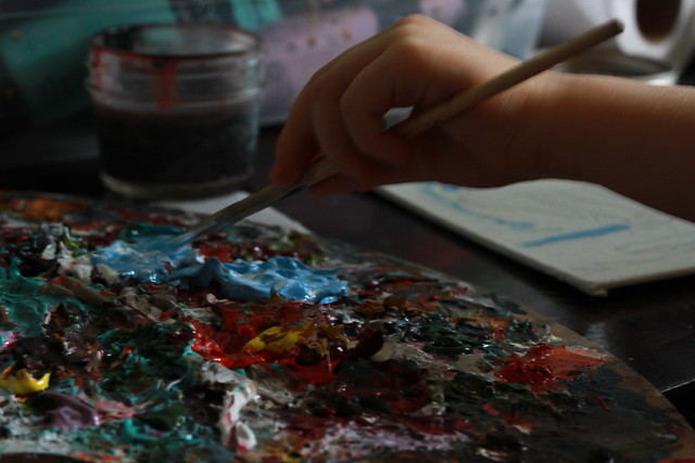 Cordelia painting