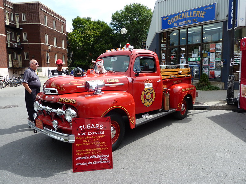 Vintage Fire Trucks of Montreal