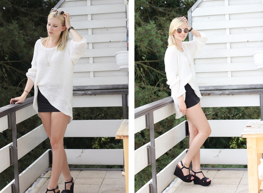 outfit-white-knitwear-skirt-sunglasses
