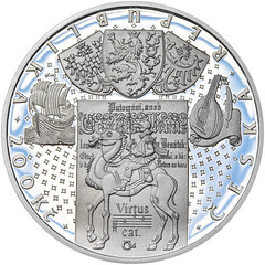 Czech Krystof Harant coin obverse
