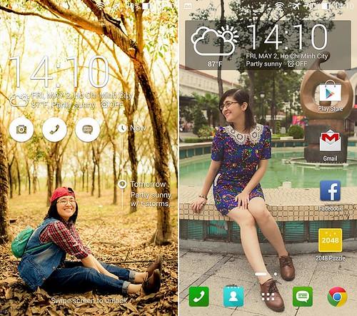 So sánh ASUS Zenfone 6 (A601CG) và Lenovo S850 - 30649