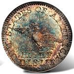 1792 Cardinal collection half disme