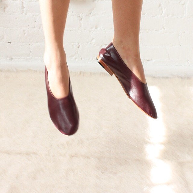 martiniano glove shoes burgundy