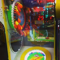 #defcon1 when you are in Chuck E Cheese, have a #latex allergy And see this game.