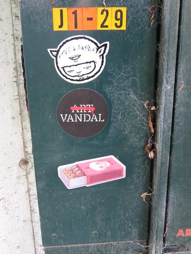Fresh streetart found in Stavanger