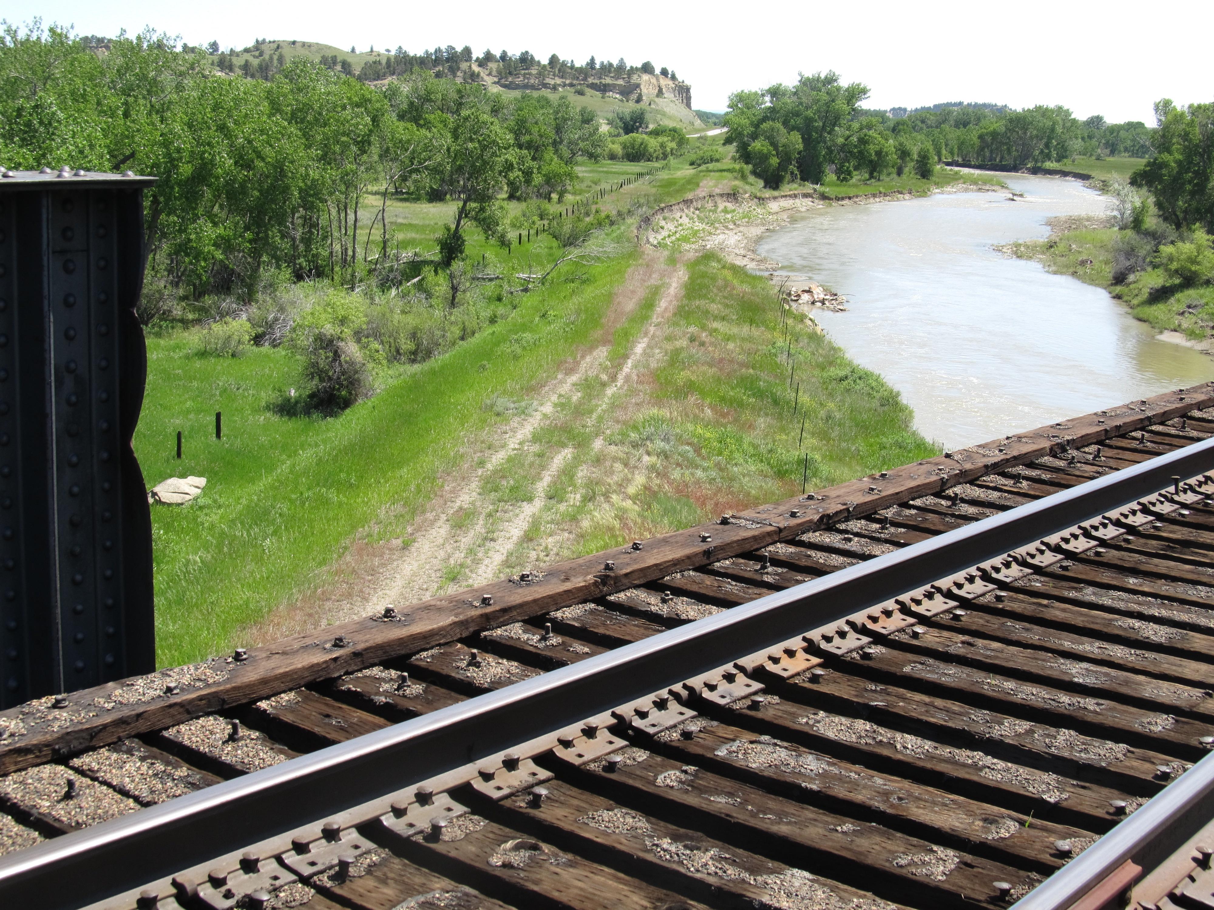 Montana big horn county wyola - Montana Bnsf Milwaukeeroad Abandonedrailroads Musselshellriver