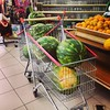 melancia #melancia #watermelon #melon #supermarket #shopping #serranegra #saopaulo