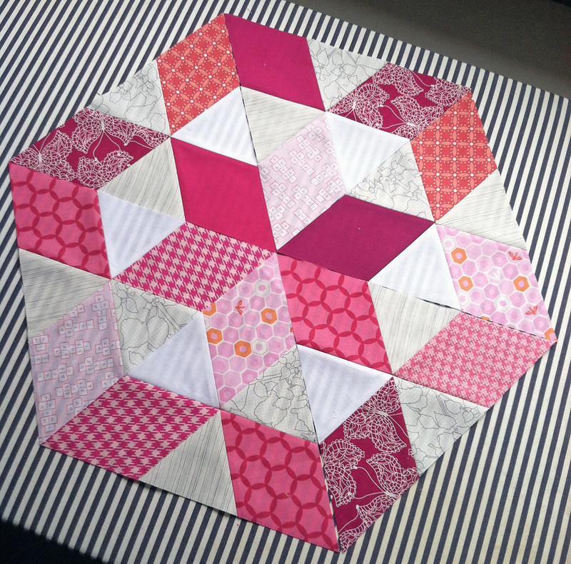 Star Bright Blocks for September / do. Good Stitches Love Circle Charity Bee