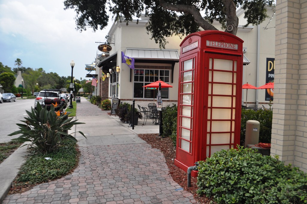 Who Knows What You'll See in Downtown Dunedin, Fla., Aug. 30, 2014