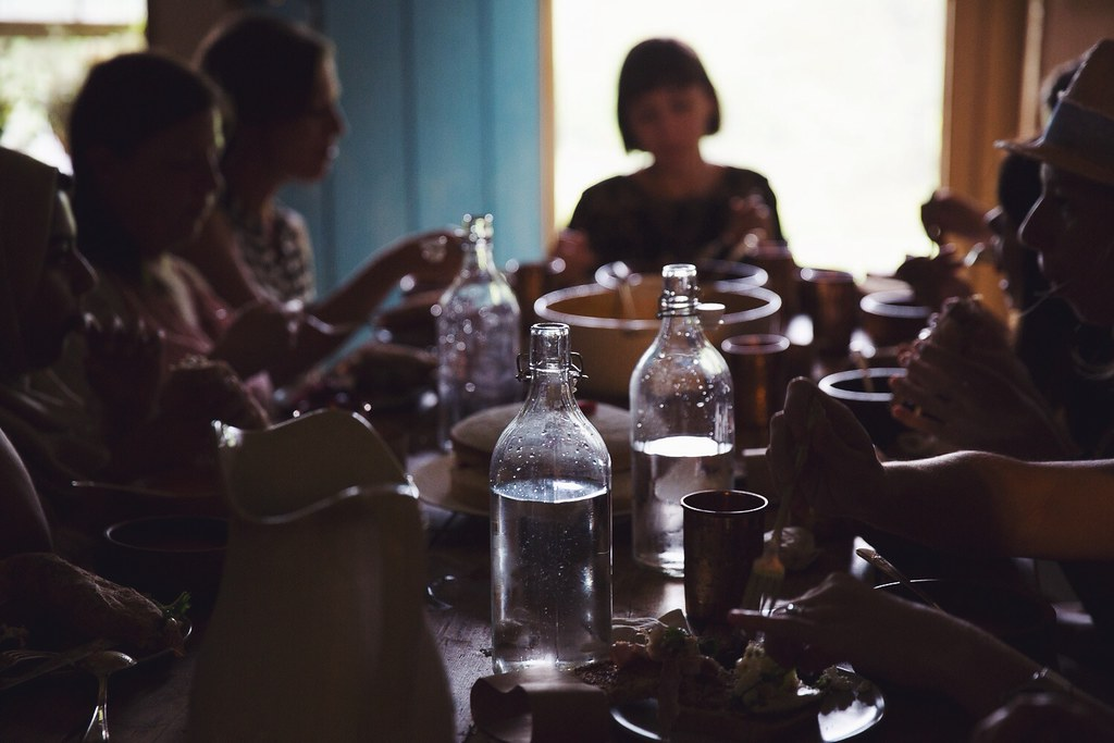A Daily Gathering - Eating