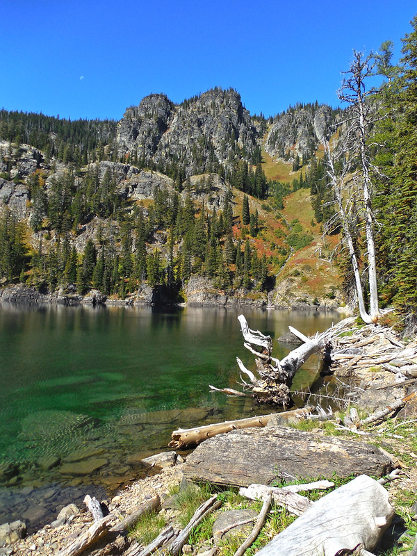 Terrace Lake, Cube Iron - Silcox Roadless Area, western Montana