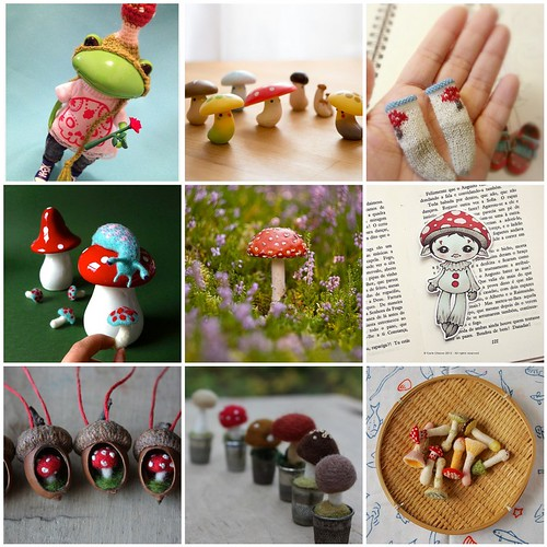 Friday Funspiration: mushrooms