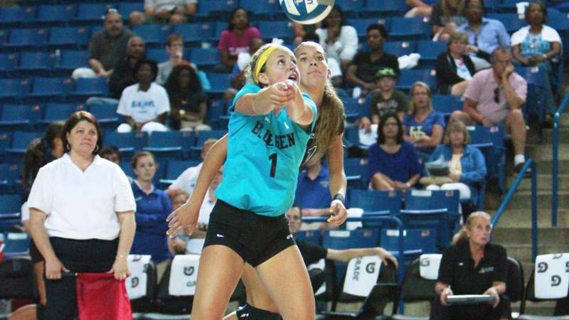 Blue Hens close out Delaware Invitational with three-set victory over George Mason