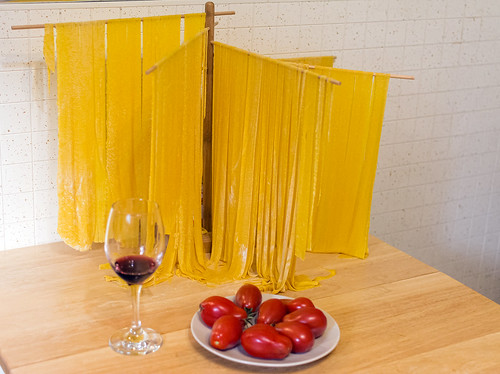 Drying Fettuccine