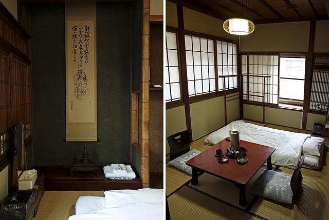 my room at shimizuya ryokan