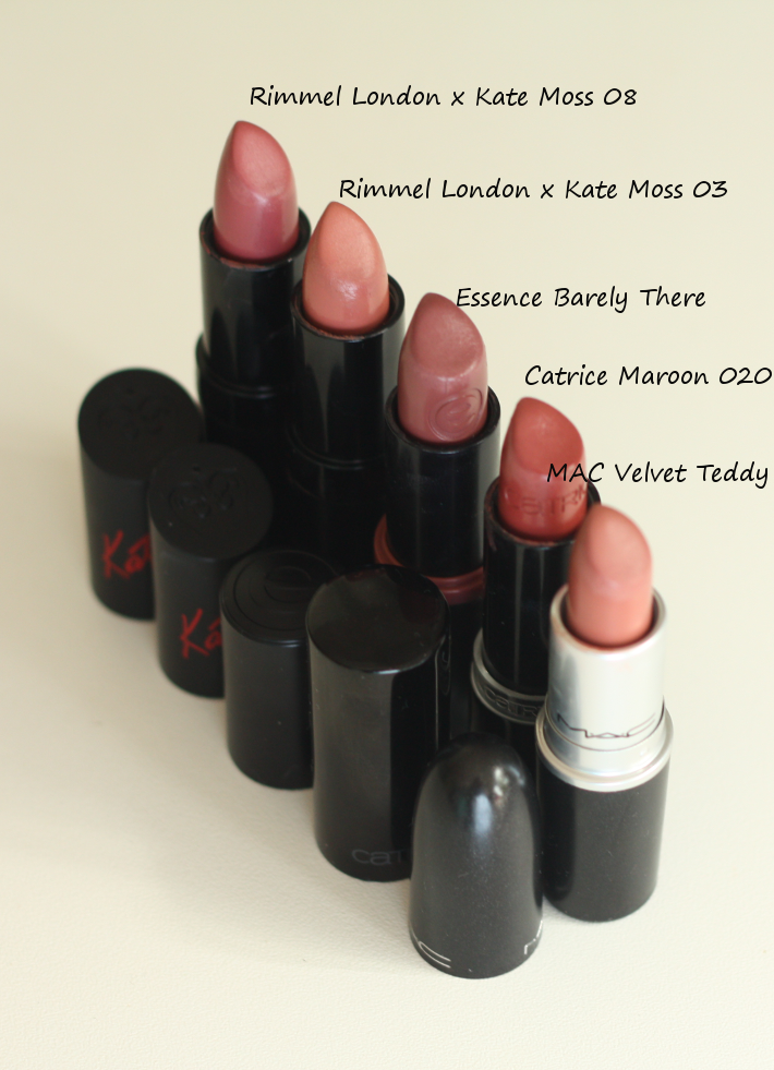 kylie jenner lipsticks velvet teddy rose brown review