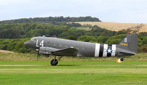 Shoreham Airshow 2014 USAF Douglas C-47 Skytrain