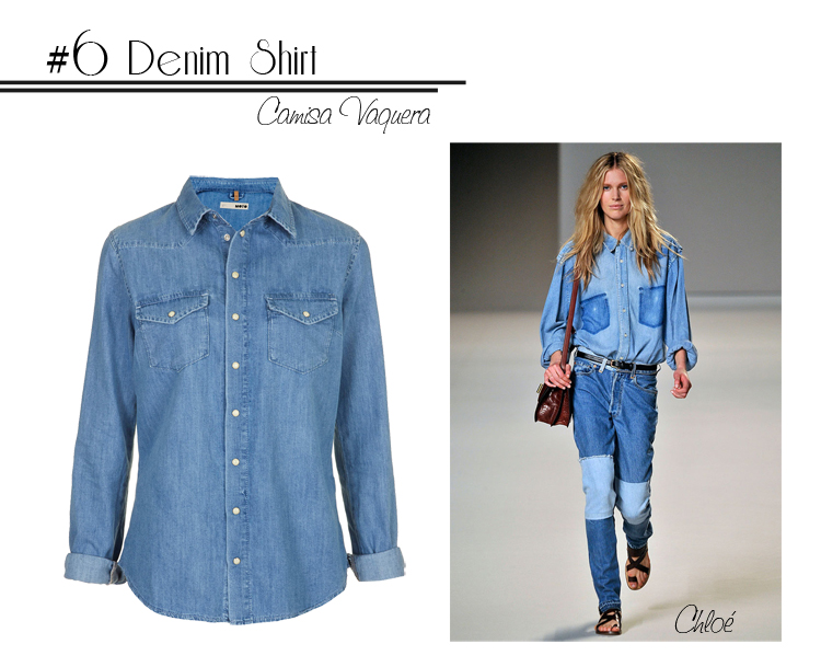 6 Denim Shirt