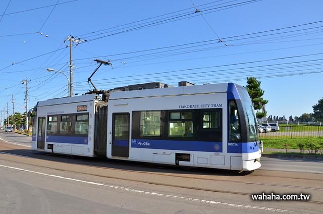 函館市電9600型らっくる号