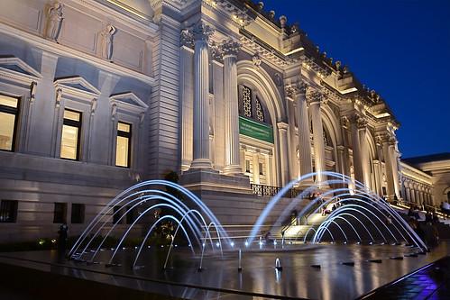 David Koch Plaza, Metropolitan Museum of Art, NYC