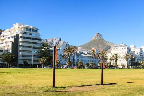 Lion's head from Green Point