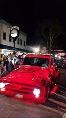 Custom Red Ford Pickup