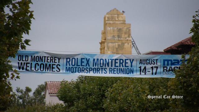 Old Monterey Welcomes Rolex Monterey Motorsports Reunion