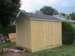 outdoor structure, building, garden buildings, hut, wood, log cabin, outhouse, shed,