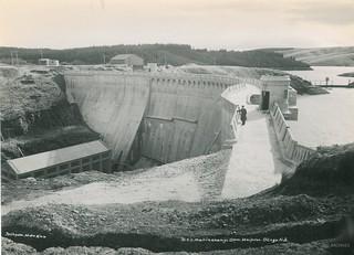 Mahinerangi Dam, Waipori 1946