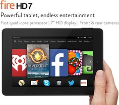 планшет Kindle Fire HD 7