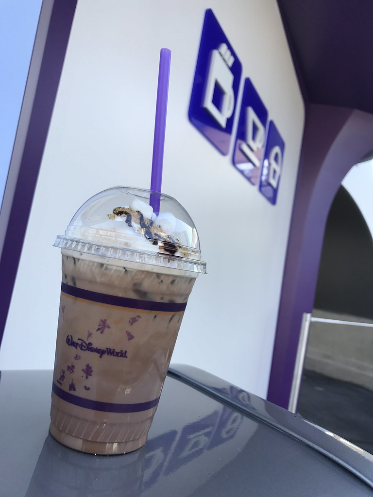 Mission to S'mores, Joffrey's Coffee Revive kiosk at the Magic Kingdom