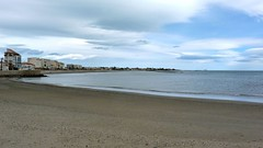 La plage de Grau d'Agde