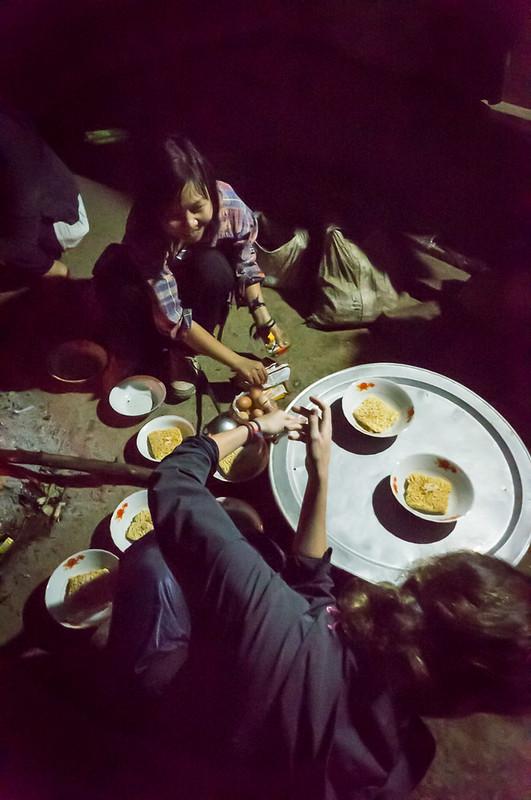 Dinner in Laos