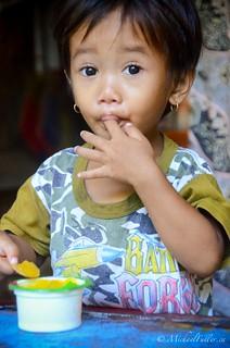 Adorable village girl