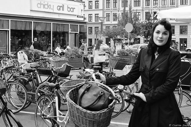 40's cyclist - portrait