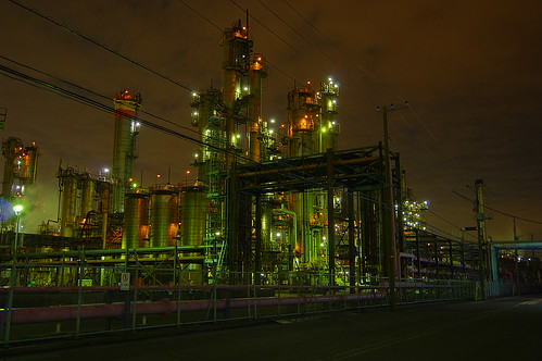 Nightscape at Kawasaki Industrial Zone 37