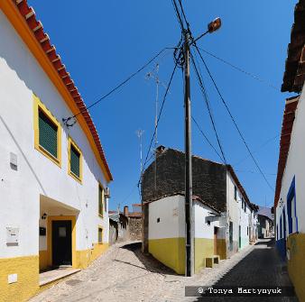32 - провинция Португалии - маленькие города, посёлки, деревушки округа Каштелу Бранку