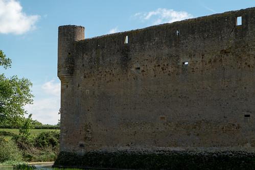 Château (XIVe s.) de Montrenard à Pouilly-sous-Charlieu (Loire, France)