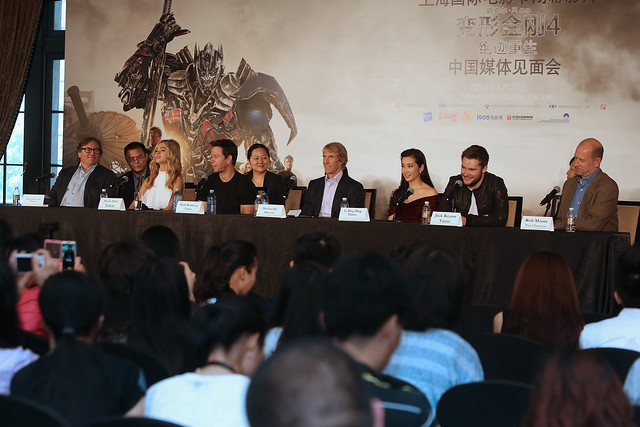 Transformers 4: Age of Extinction - Shanghai Premiere Press conference