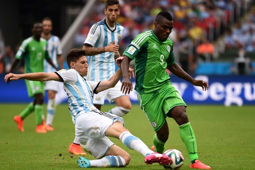 (63)BRASIL-PORTO ALEGRE-MUNDIAL 2014-NIGERIA VS ARGENTINA