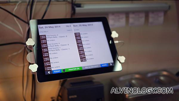 Newton Roast's online ordering system