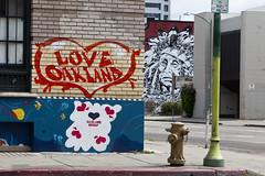 oakland graffiti & street art