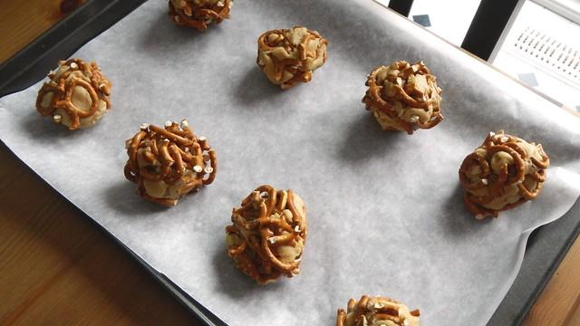 Peanut Butter Pretzel Cookies 11