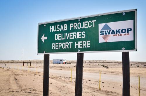 Husab mine, Namibia